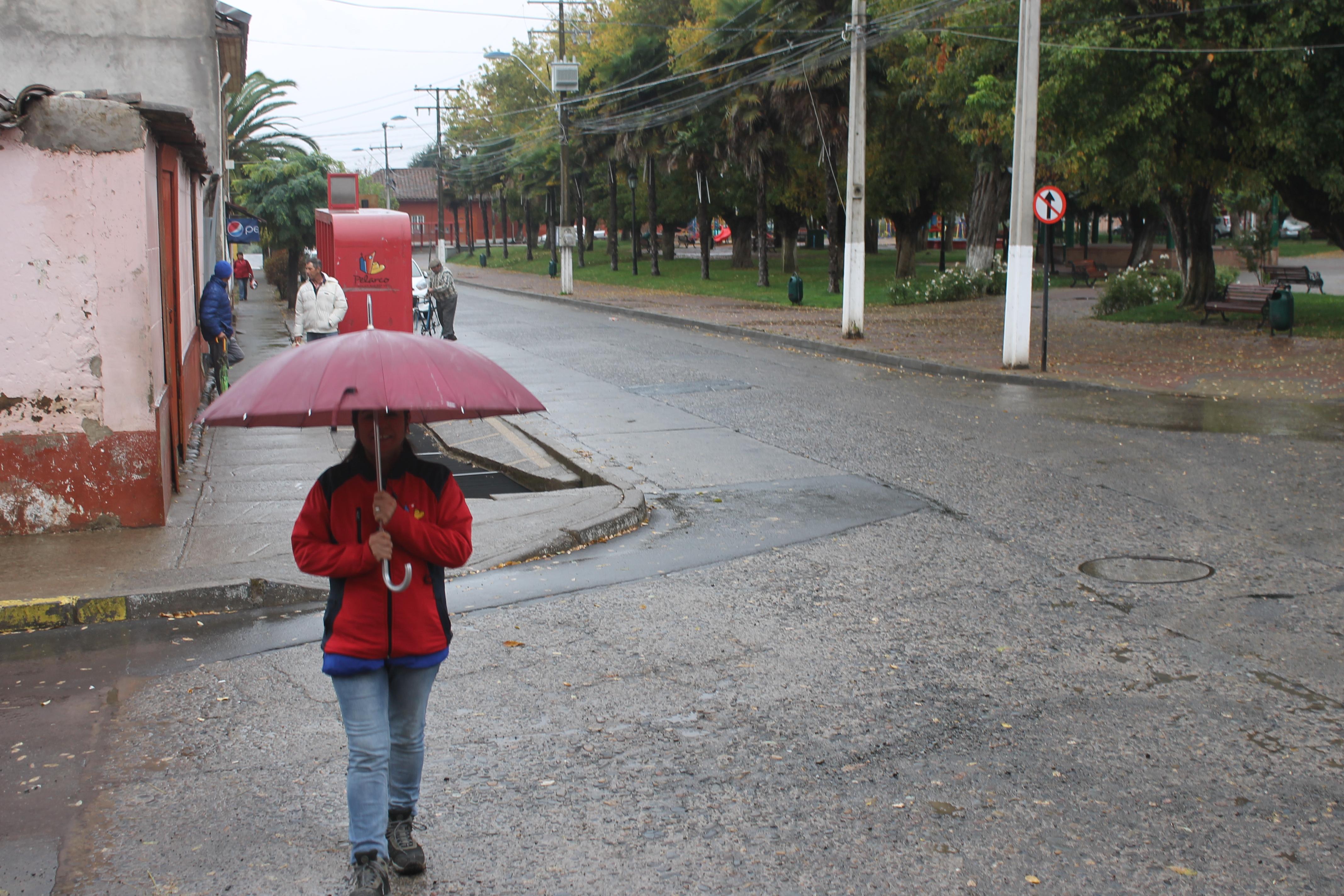 Alerta preventiva en Pelarco por lluvias