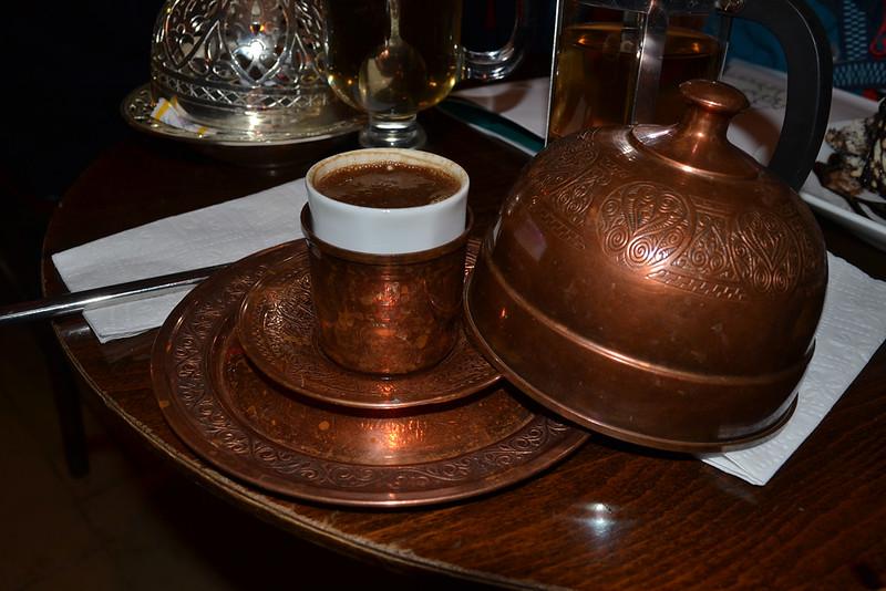 Café turco. Contundente.