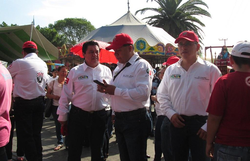 Por primera vez SME marcha como obrero y socio de FENIX