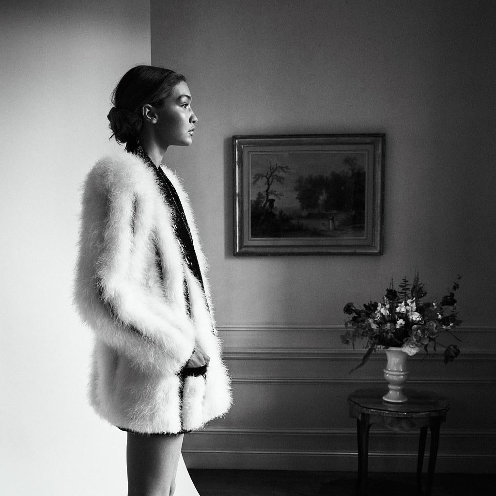 Джиджи Хадид — Фотосессия для «Vogue» DE 2016 – 4