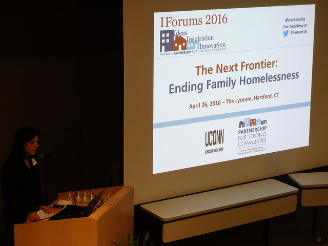 April 2016 IForum - Ending Family Homelessness