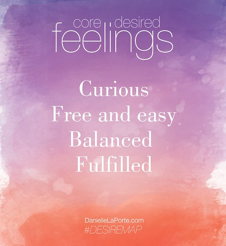 Core Desired Feelings