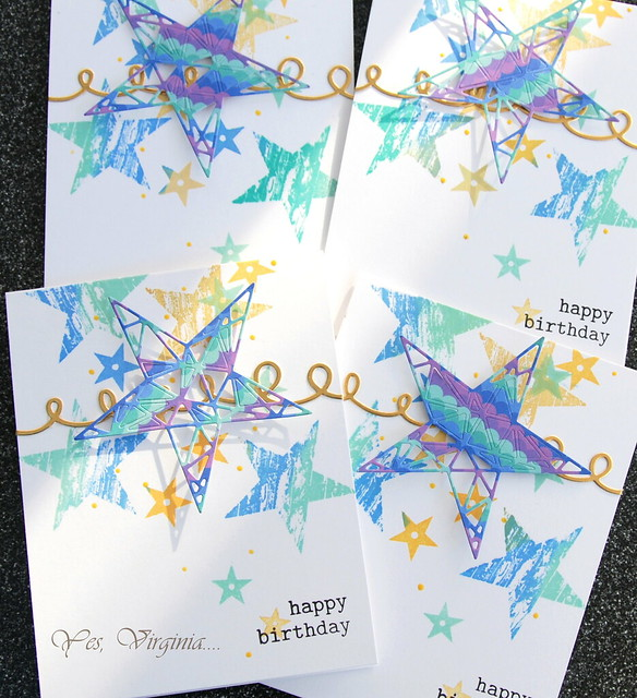 happy birthday (set of cards)