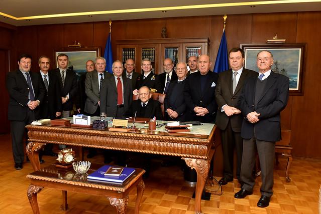 Επίσκεψη Διατελεσάντων Αρχηγών Στόλου στο Συγκρότημα ΑΣ
