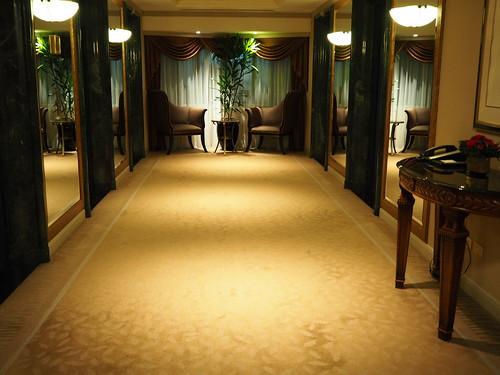 ウエスティン・恵比寿のエレベーターホール