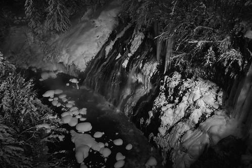Shirahige Waterfalls, Biei on JAN 09, 2016 (1)