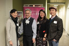 Debbie Lum, Stephen Gong, Debbie Ng and S. Leo Chiang - Photograph by Leanne Koh
