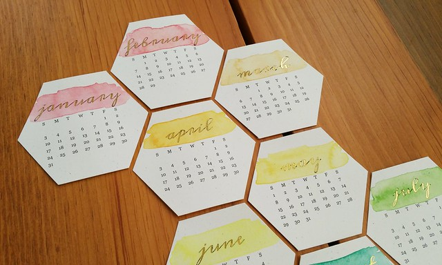 Hexagon 2016 Calendar Printable | shirley shirley bo birley Blog