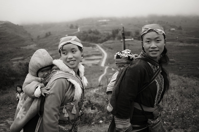 The ladies of Tả Phìn village