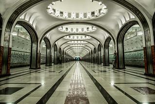 Moscow Metro Mayakovskaya