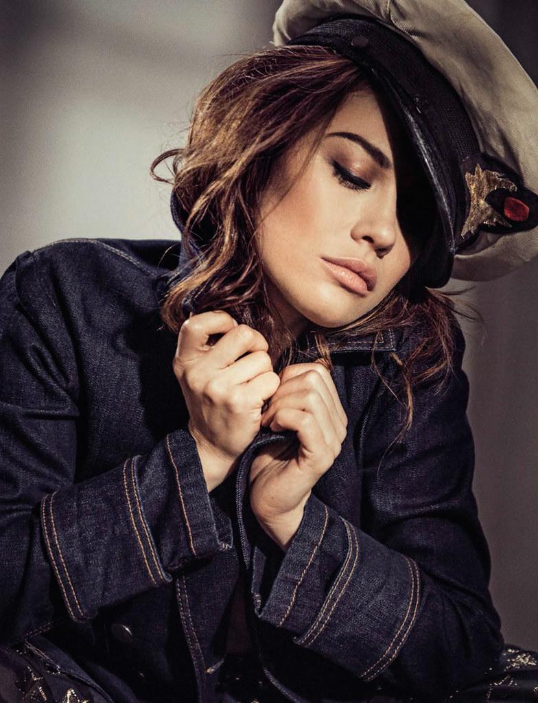 Ольга Куриленко — Фотосессия для «Glamour» IT 2016 – 4