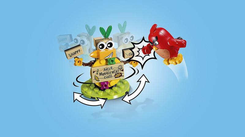 LEGO Angry Birds Movie 75823 - Bird Island Egg Heist