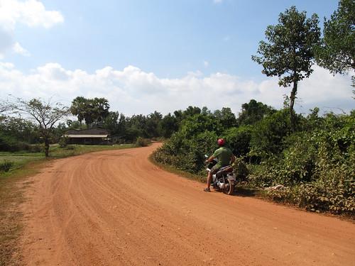 Kampot: dans les environs de la plantation de poivre