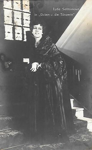Lyda Salmonova in Der Golem und die Tänzerin (1917)