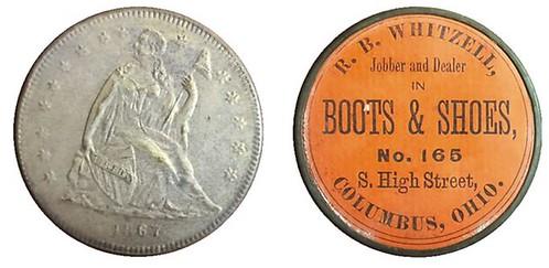R. B. Whitzell shell crd token