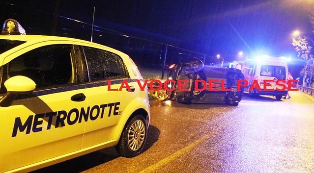 incidente polignano castellana metronotte 2s