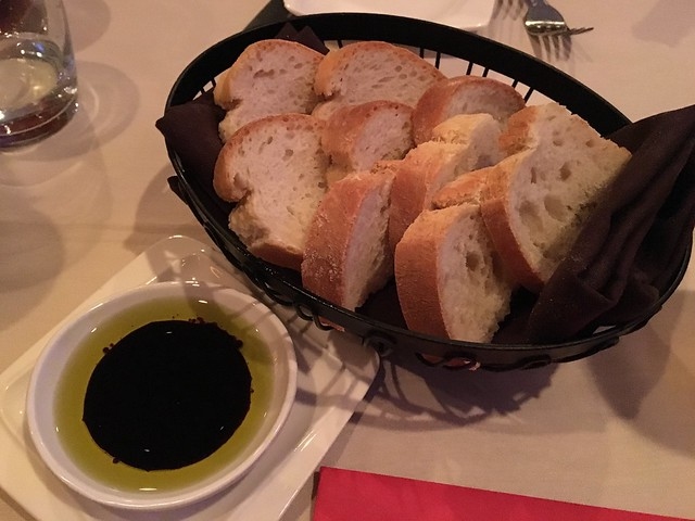 Baguette with oil and vinegar - Poesia