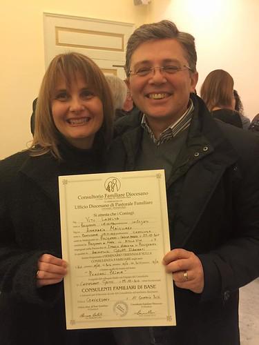 Vito Laselva e la moglie Annamaria