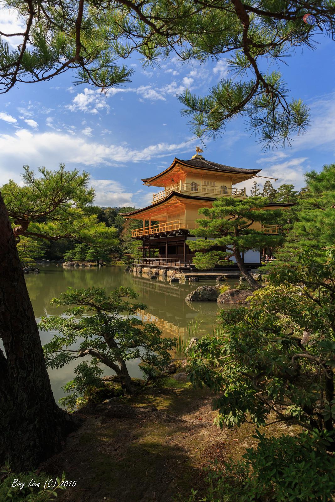 日本京都~鹿苑寺(金閣寺) p2
