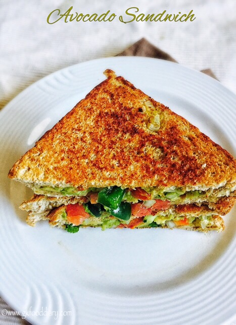Avocado Sandwich Recipe for Toddlers and Kids 6
