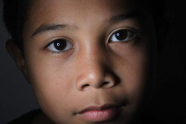 efek catch light pada mata