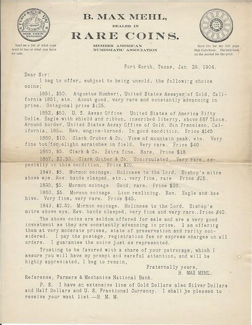 MEHL, B. MAX1-25-1904