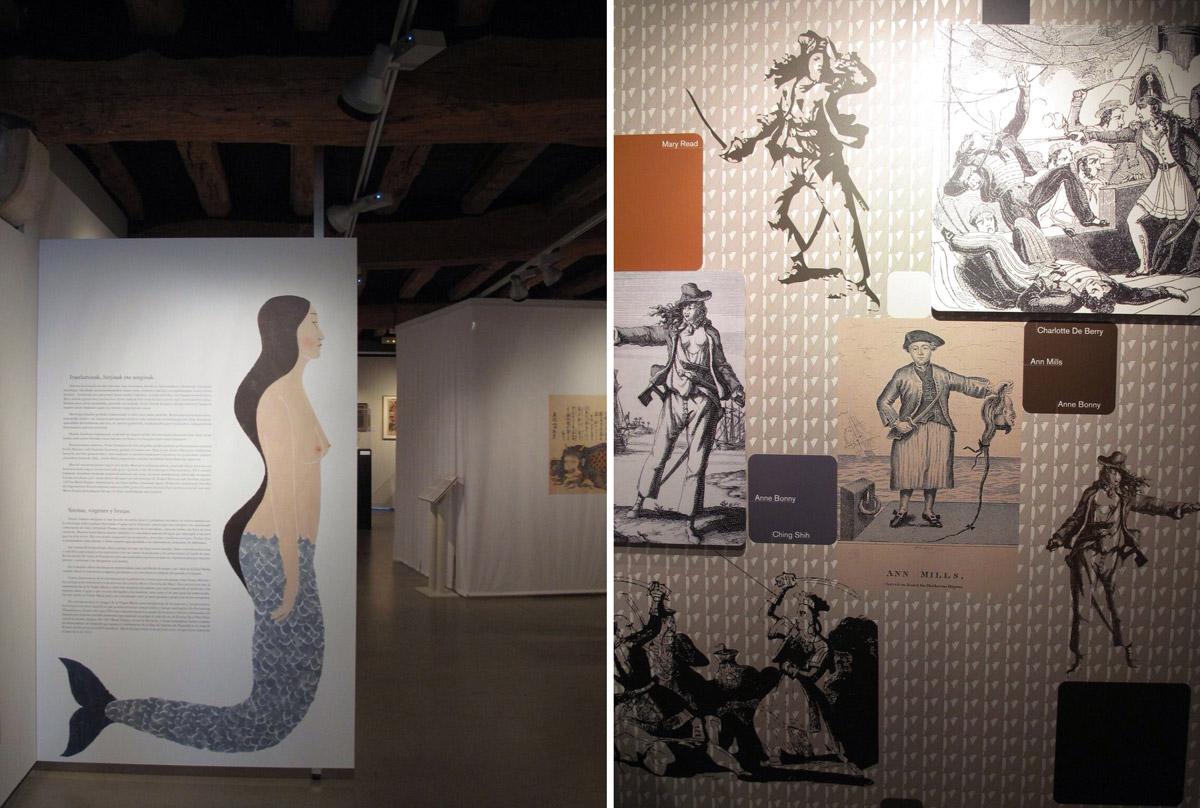 exposicion mujeres y mar_Untzi Museoa-Museo Naval_igualdad_8marzo_sirenas
