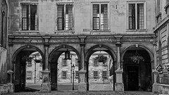 Rectangles and arches - Peterhouse College, Cambridge