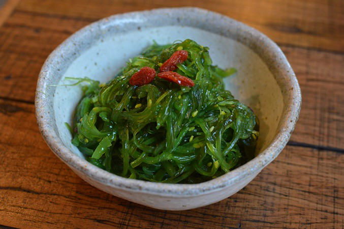 Marinated seaweed salad