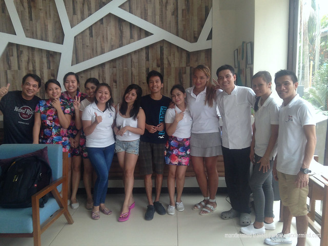 With the Management and Staff of Ferra Hotel Boracay