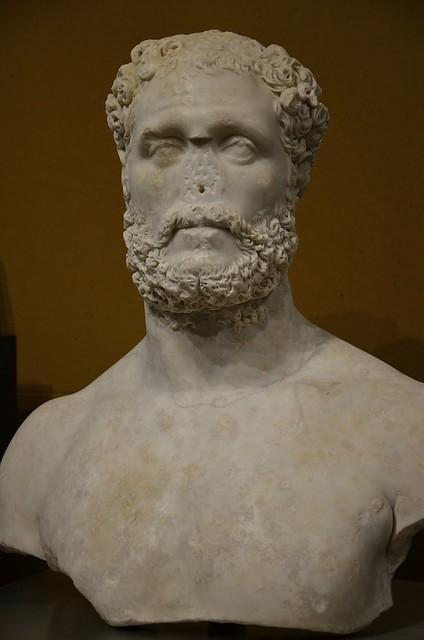 Decimus Clodius Albinus, Museo Arqueologico de Cordoba, Spain