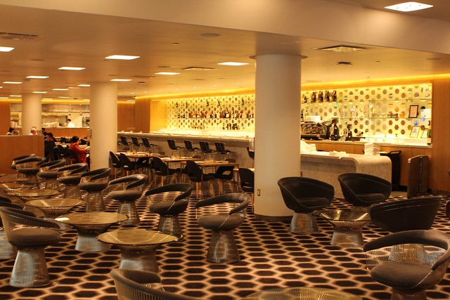 Qantas First Lounge