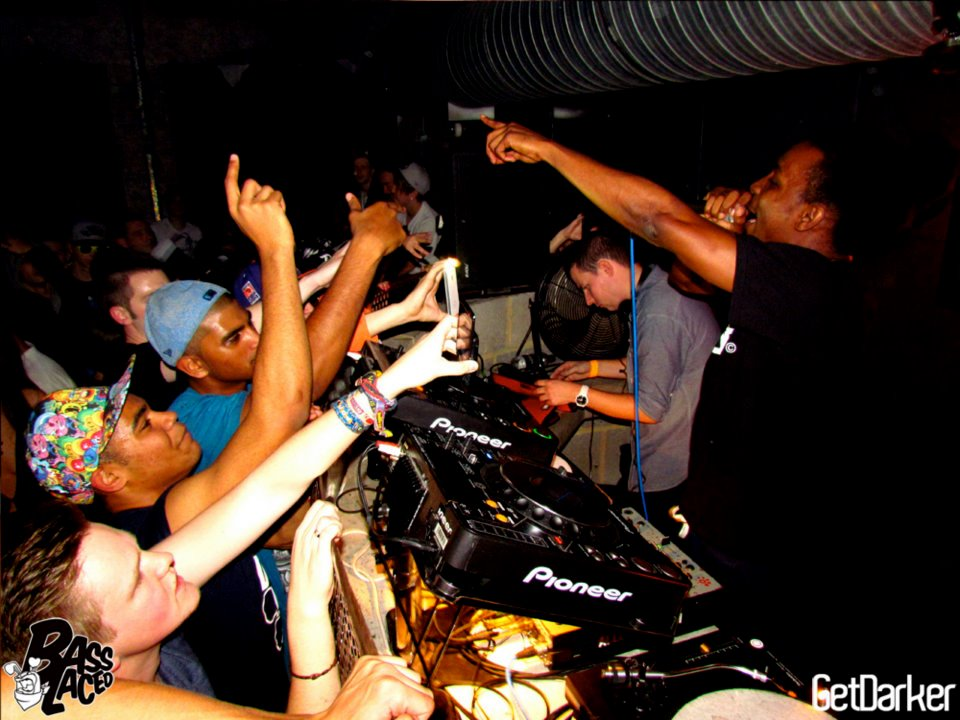 GetDarker v Basslaced [JME, Coki, Darkside, Kromestar + more] - Cable, London - 21.10.2011