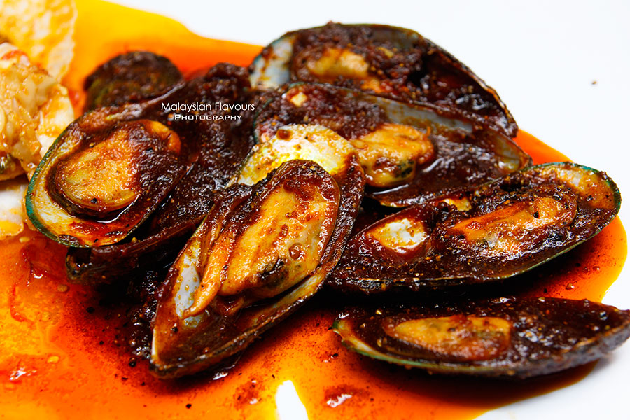Shell Out Seafood Restaurant green mussel