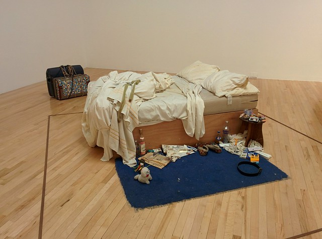 My bed (Tracey Emin)