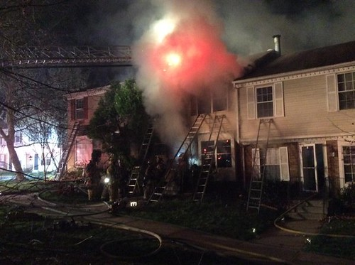 Gaithersburg Townhouse Fire Leaves One Dead