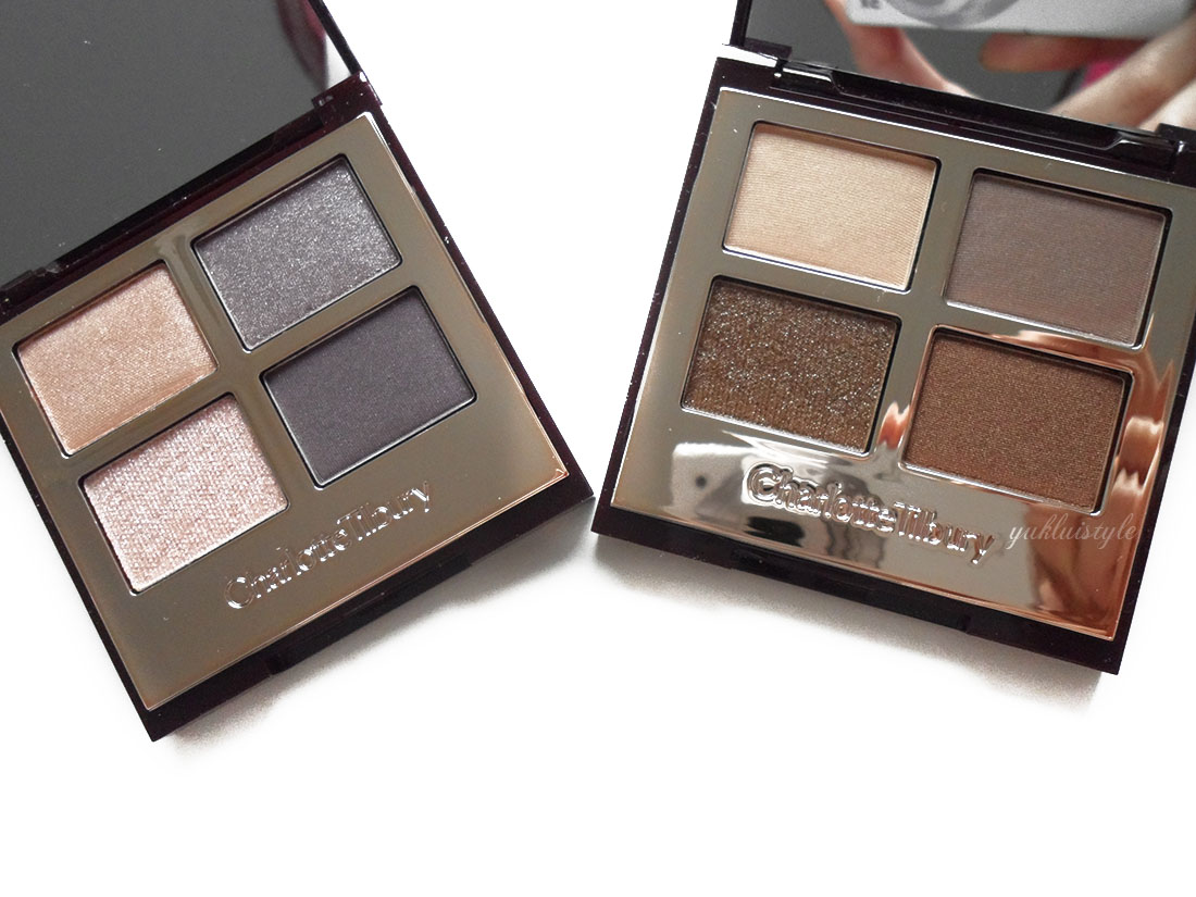 Charlotte Tilbury Luxury Palettes uptown girl golden goddess review and swatch