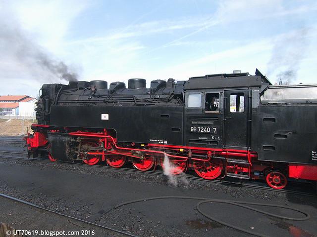 Schmalspurbahn Lokomotive