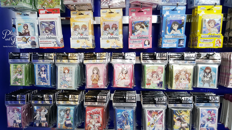 mbk animate bangkok shop trading cards