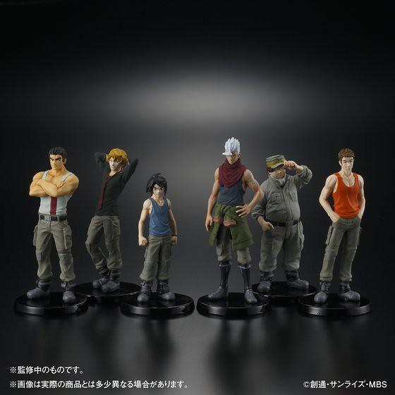 HG《機動戰士鋼彈 鐵血的孤兒》 「鐵華團」六位成員一同登場!
