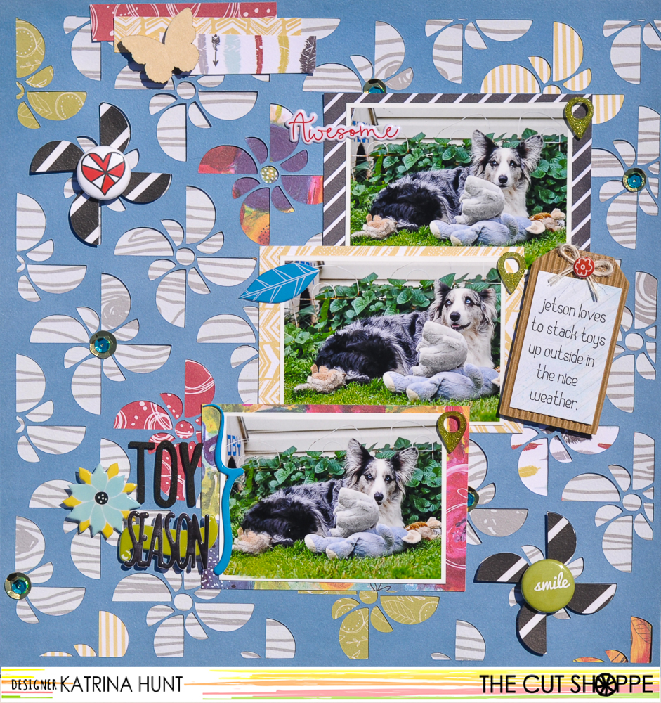 Toy_Season_Scrapbook_Layout_Fancy_Pants_Designs__The_Cut_Shoppe_Katrina_Hunt_1000Signed-1
