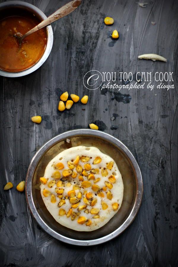 sweet corn dosa