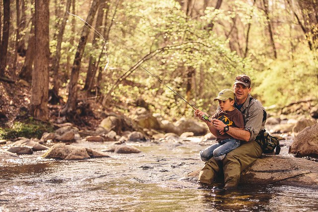 Creek Fishing in Botetourt County