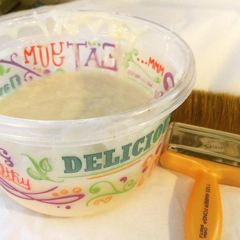 Wheat Paste #wheatpaste #craftycrap #problemsolvingonabudget