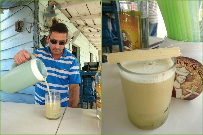Sugar cane juice, Cuba