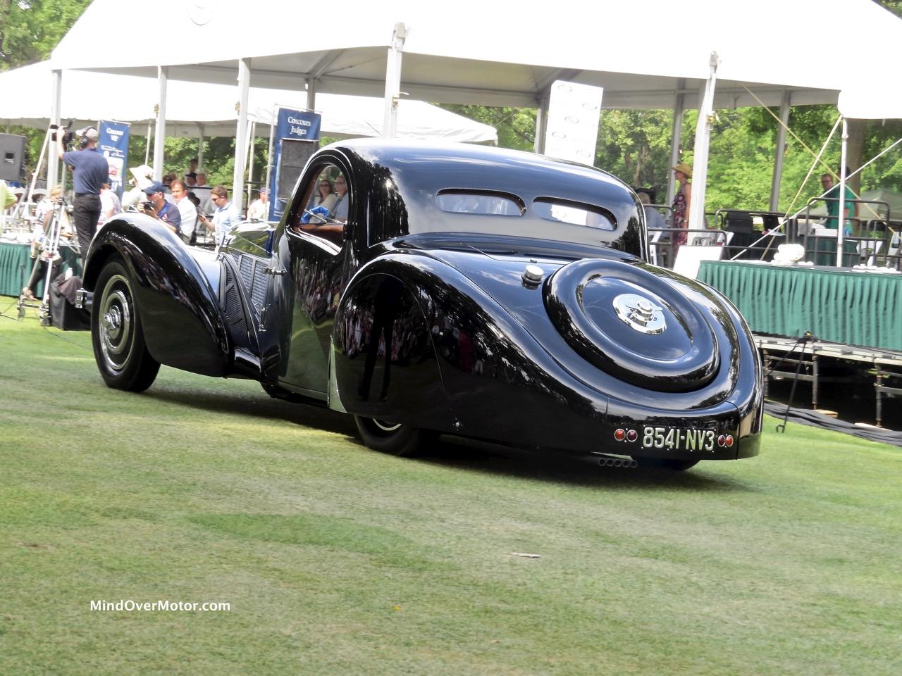 1937 Bugatti Type 57SC Rear