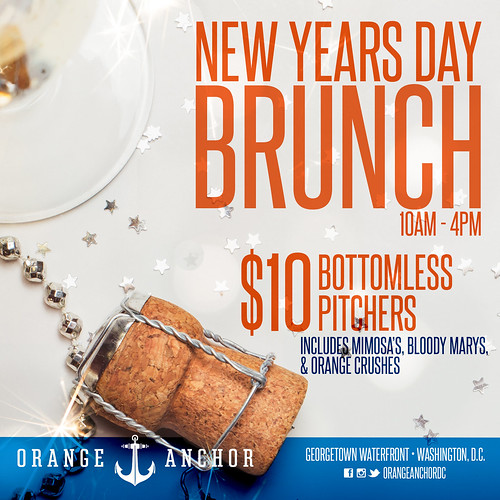 New Year's Day Brunch at Orange Anchor