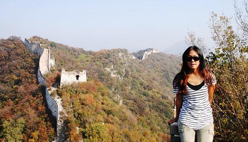 38 La gran Muralla en Pekin (2)