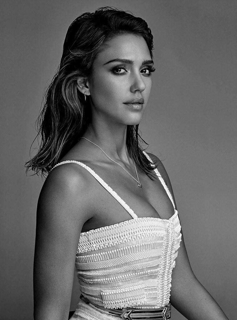 Джессика Альба — Фотосессия для «Vogue» AU 2016 – 7