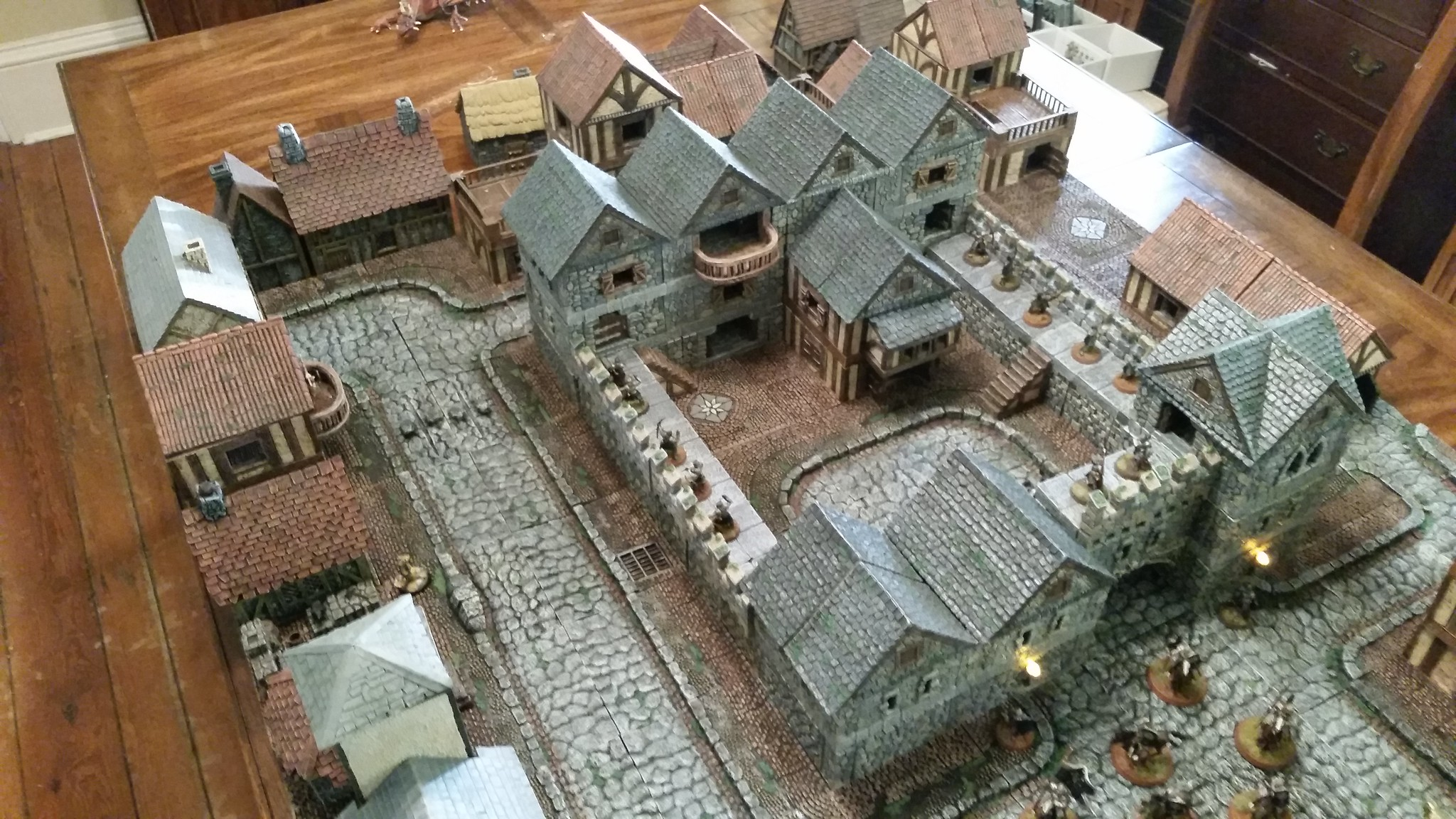 Dwarven Forge City Builder System Simply Irresistible